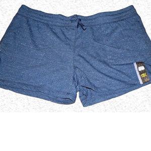 Athletic Works Knit Drawstring Shorts - Navy F14